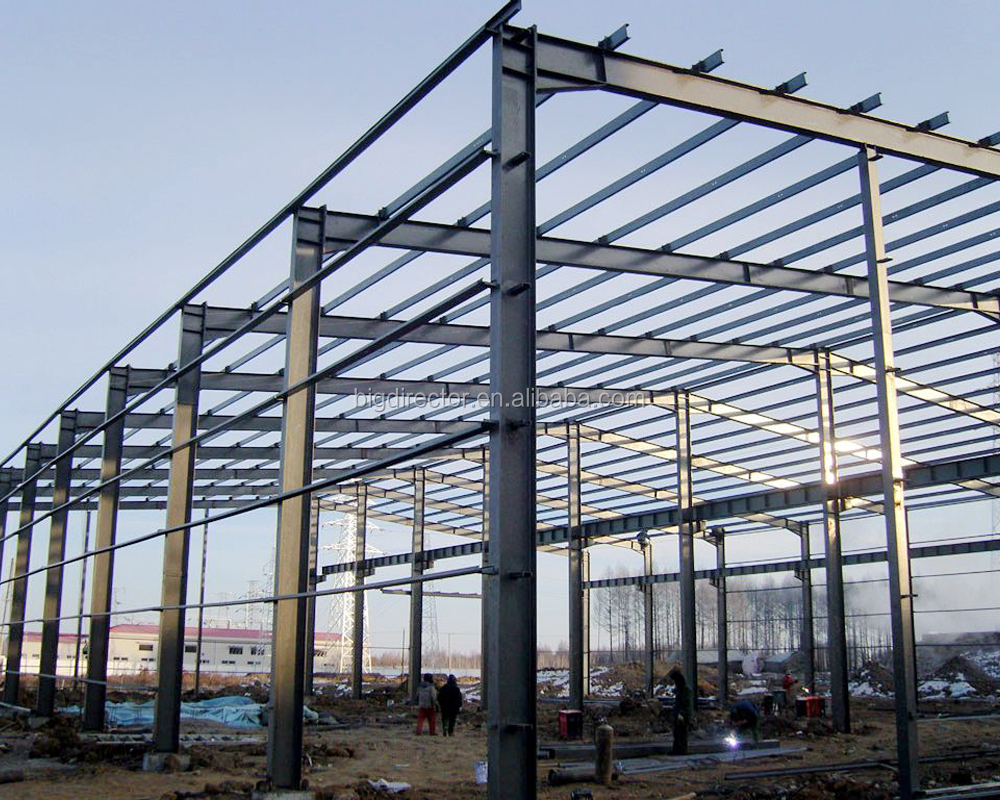 China Qingdao Low Cost Prefabricated Light Steel Structure Buildings