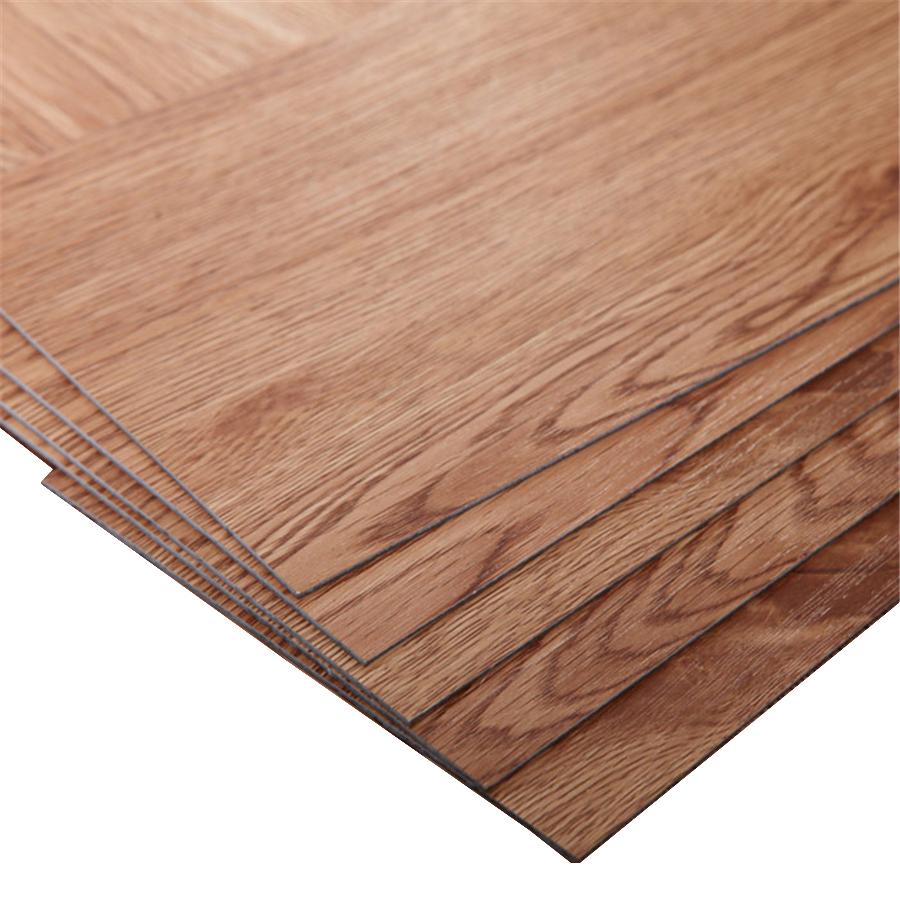 Plastic Click Flooring: 8mm & 10mm Click Vinyl Flooring Planks/ Plastic Pvc