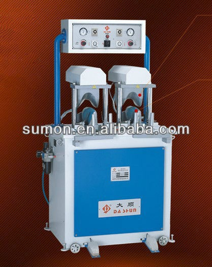 leather splitting machine/Dashun leather machine, DS-805 Auto Shoe Sides Arc Setting Machine