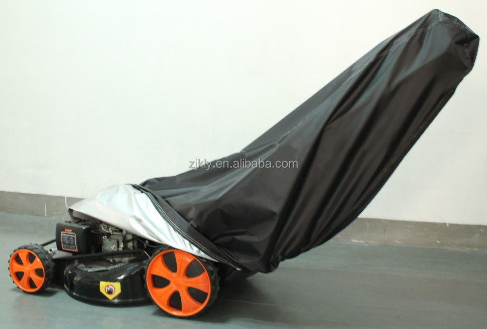 Professional cheap lawn mower cover/portable lawn mower cover