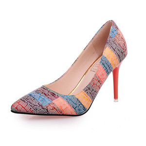 2019 China promotion new style high quality sexy women Pointed pumps shoes