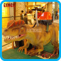 Amusement Park High Simulation Coin Operated Kids Dinosaur Ride