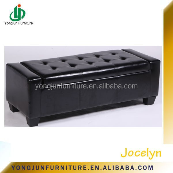 Luxury Colorful Leather/Pu Storage Bench (YJ-5006)