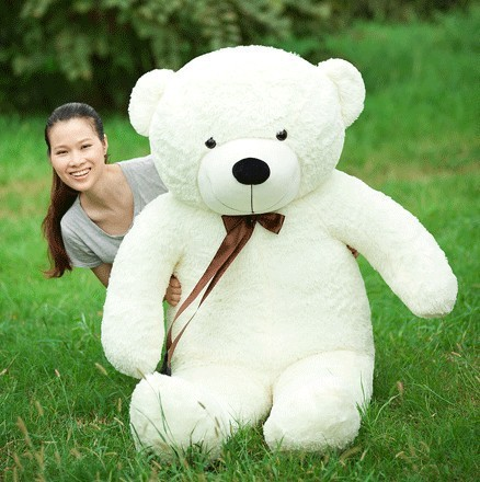 compare prices on giant white teddy bears online shopping buy low price giant white teddy bears. Black Bedroom Furniture Sets. Home Design Ideas