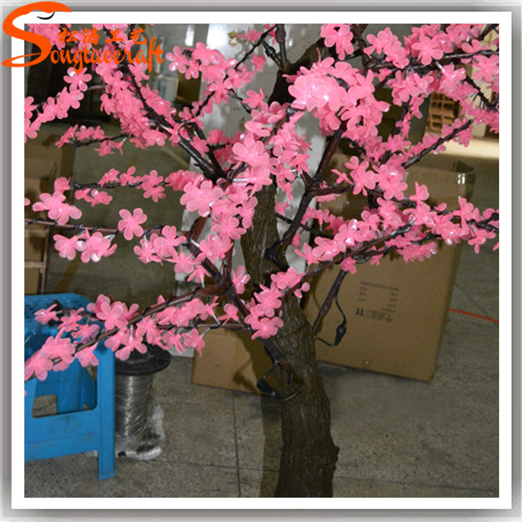 Por Lighted Cherry Blossom Tree Led For Wedding Party Decoration At Garden