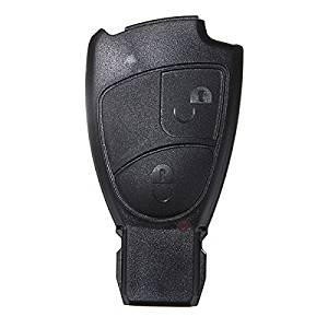 Pink Lizard 2 Button Replacement Remote Key Fob Case For Mercedes Benz C E S Class