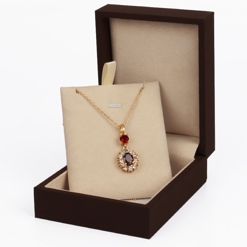Buy New Design Brown Paper Velvet Jewellery Boxes And Packaging