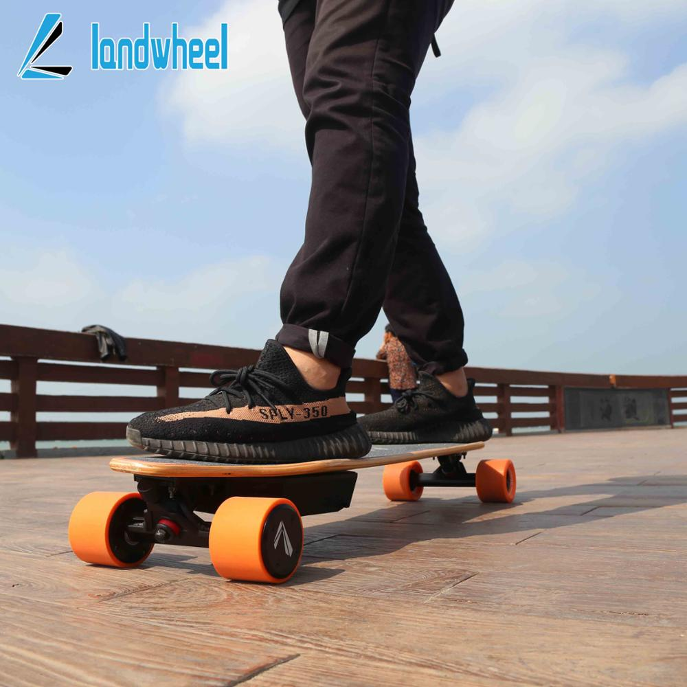 Great powerful dual hub brushless motor 2200w offroad 4 wheel electric powered skateboard