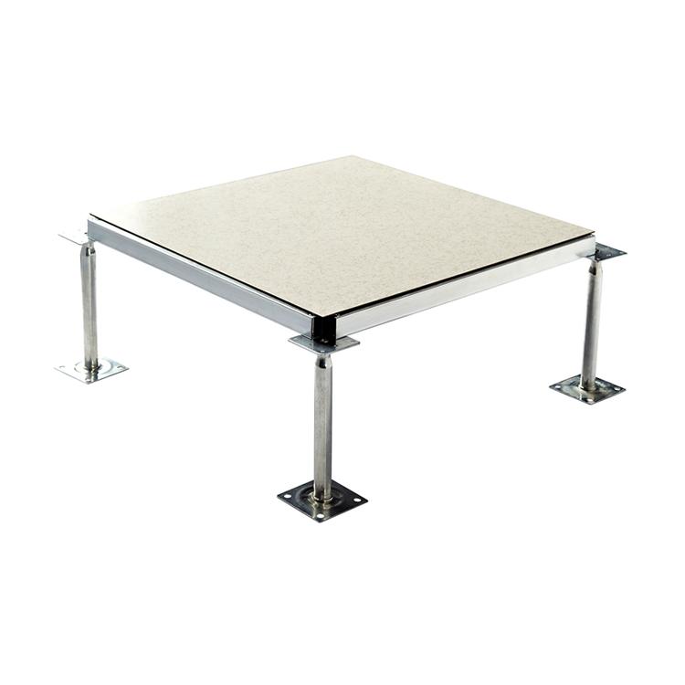 De acero anti estática criado piso de acceso HPL con trim