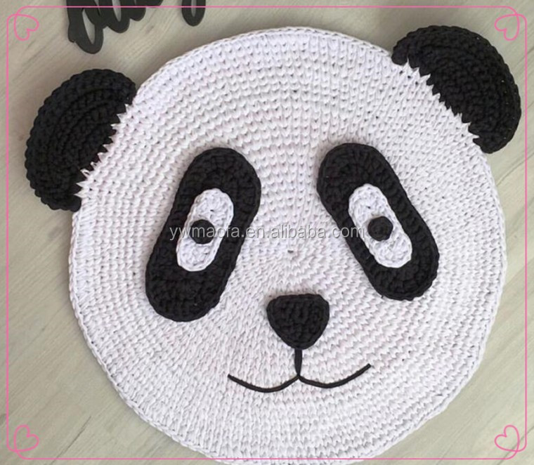 Fábrica De La Venta Directa De Bebé Gateando Mat Crochet Camiseta ...