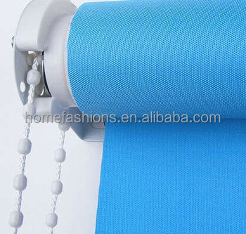 Luxury Window Curtains Of Roller Blinds Shades For Villa Hotel