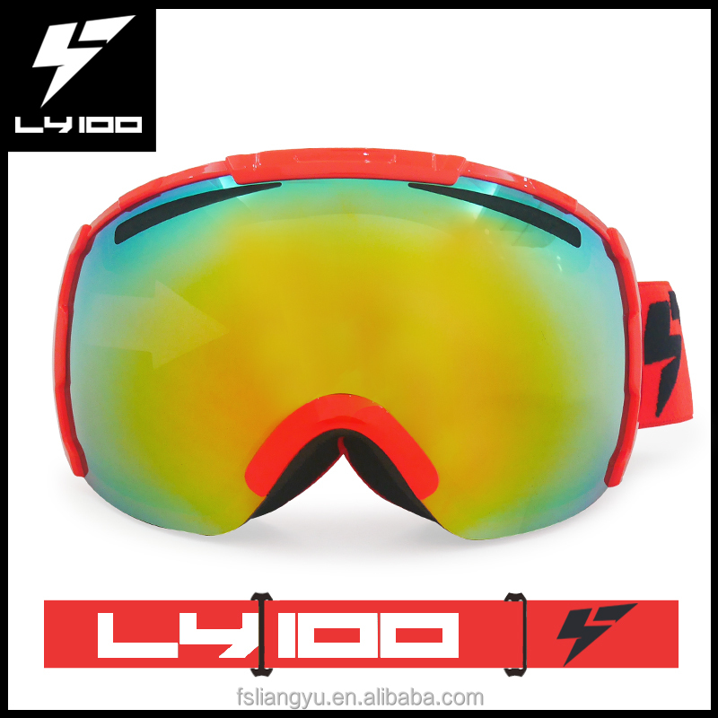 Skiing Eyewear Professional Winter Snowboard Skiing Goggle Uv400 Otg Spherical Anti-fog Men Women Snow Skating Sports Goggle Detachable Lens Ample Supply And Prompt Delivery Skiing & Snowboarding