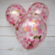transparent balloon with confetti balloon party supplies ballon
