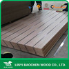 One side Solid Color or Wood Grain 4'x8' 25mmMelamine Slot MDF Panel/Linyi manufactuer