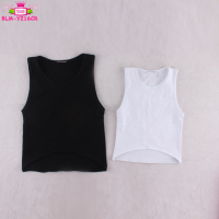 Bulk Wholesale Kids Clothing Blank Toddler T shirts Baby Summer 2017 Sleeveless Scooped Back Singlet High Low Top T Shirt