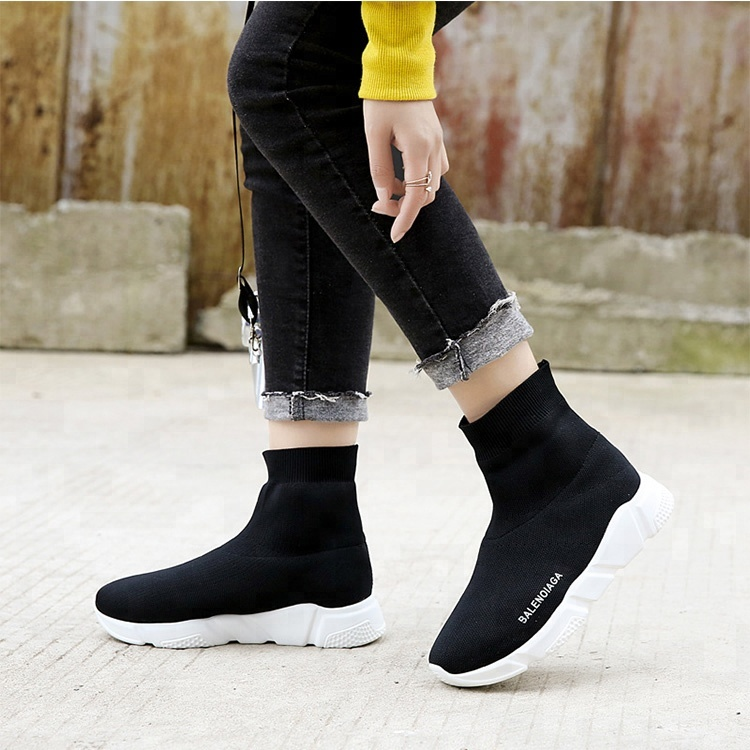 boot TOP HIGH Shoes shoes Rubber ankle Outsole Casual Sneakers AqWxUR6
