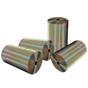 PET laser film roll/Wide application holographic laser film/laser film