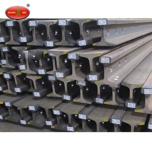 Hot Sale Excellent China Coal Standard 24kg Light Rails Steel Products 55Q 50Q Q235 Steel Rails