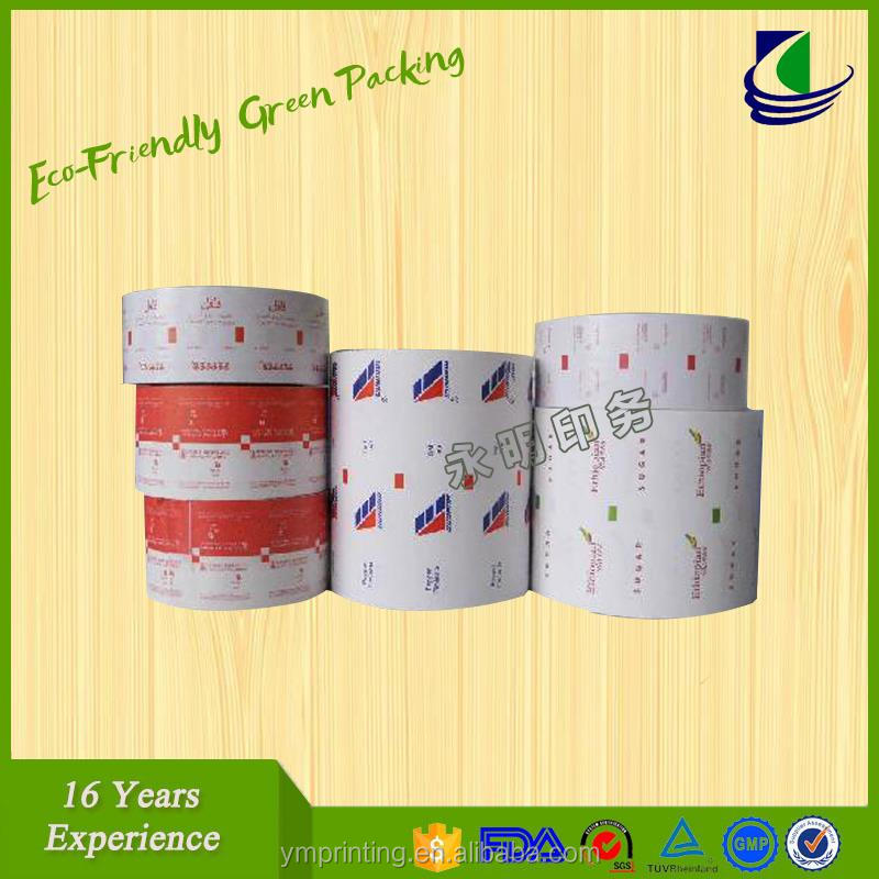 Laminated PP lidding cup sealing film/plastic sealer film