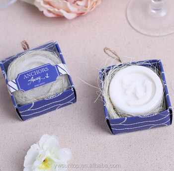 Anchors Away Soap Beach Theme Wedding Gifts Nautical Party Favors