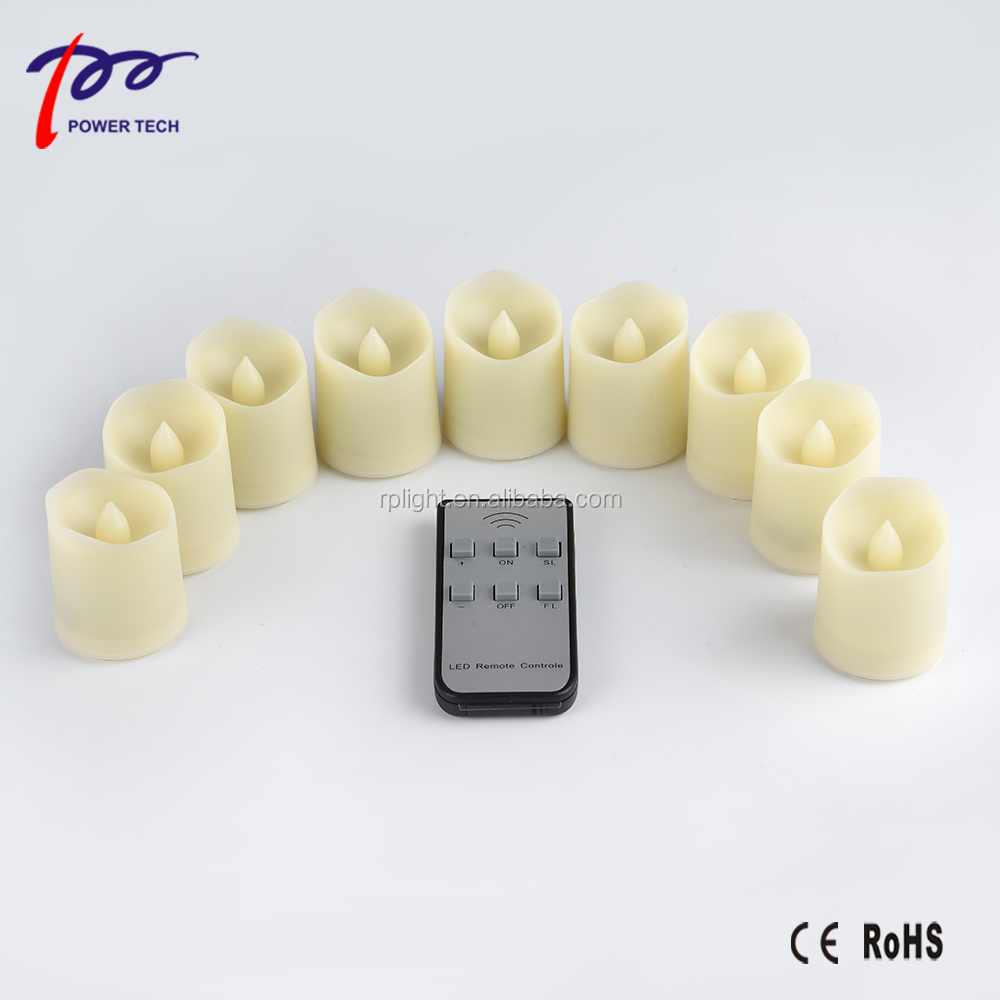 Handmade And Home Decoration Used Candle Chargeable And Non-Charged Flame Flicker LED Candle