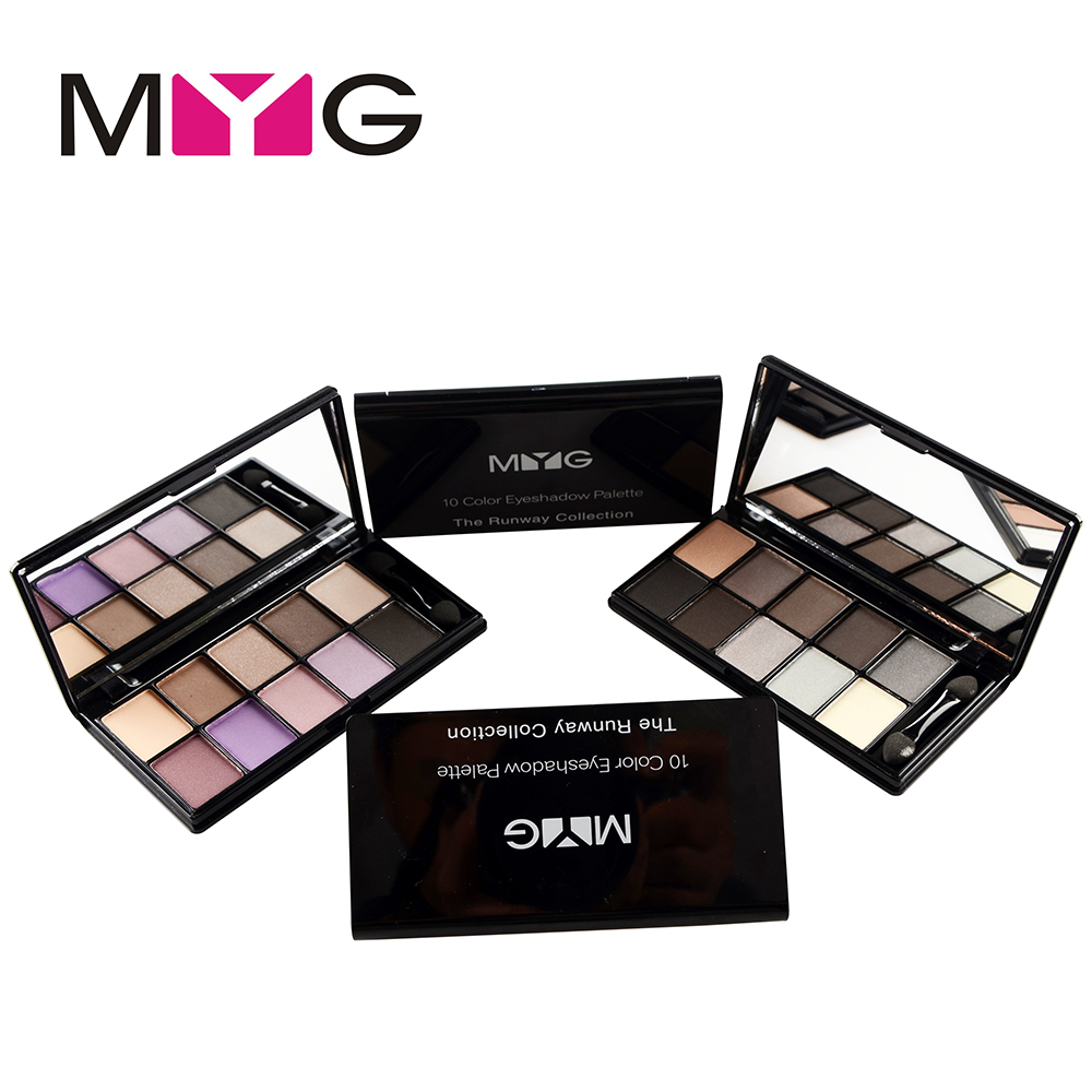 MYG Professional Makeup 10 Colors Eyeshadow Palette, Make up Eye Shadow Palette