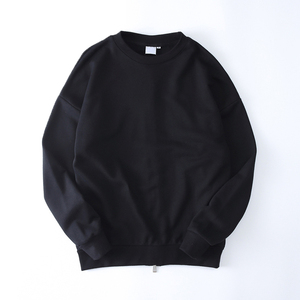 Winter Back Zipper Solid Color Kpop Hip Hop Sweatshirts