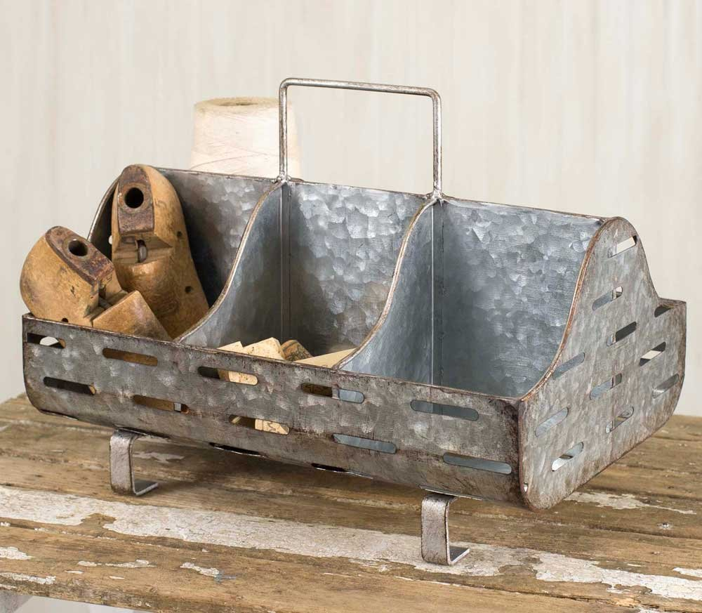Cheap Trough Galvanized Find Deals On Line At Wiring Nema 3r Get Quotations Vintage Look Feed Caddy