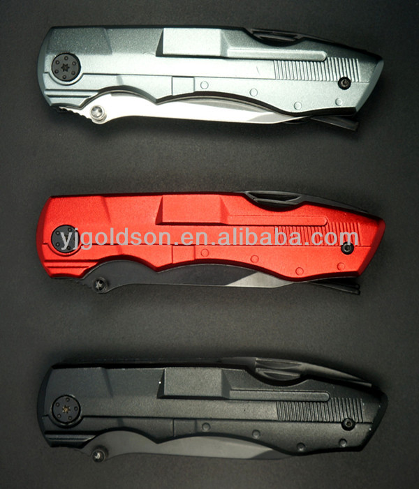 mini metal 420 stainless steel folding knife