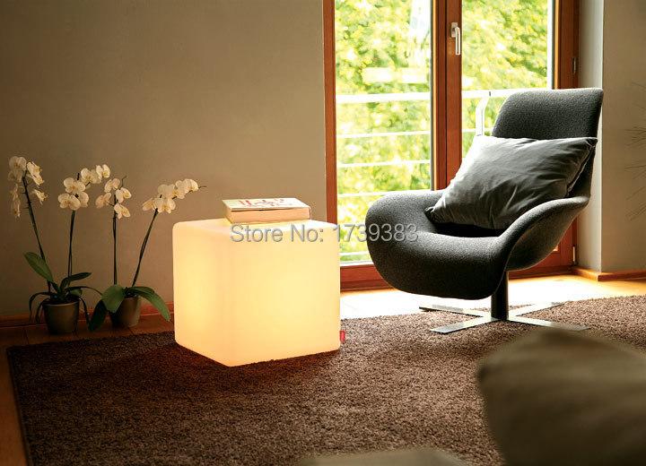 30cm Led Furniture Chair Magic Dice Waterproof Led Remote