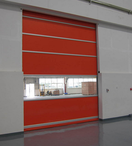 High speed and automatic garage side seals door