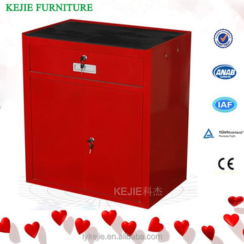 US TOOL CHEST CABINET TOOL BOX RED SIDE CABINET HANG ON LOCKER