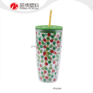 Food Standard FDA OEM Reusable Plastic Juice Cup
