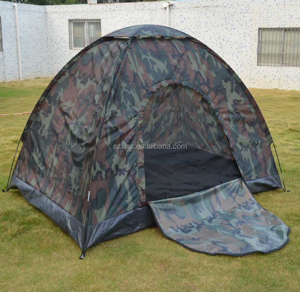 arch military double layers pop up hunting military camouflage tent for sale