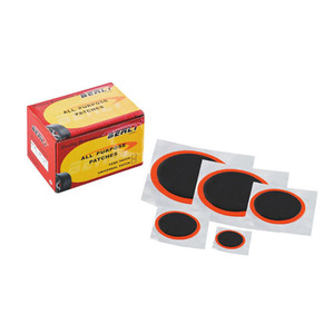 Bellright Tire repair patches Black color with orange base