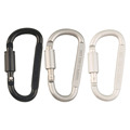 1 x Aluminum Alloy Carabiner Hiking D Ring Keychain Clip Hook Buckle Sport free shipping