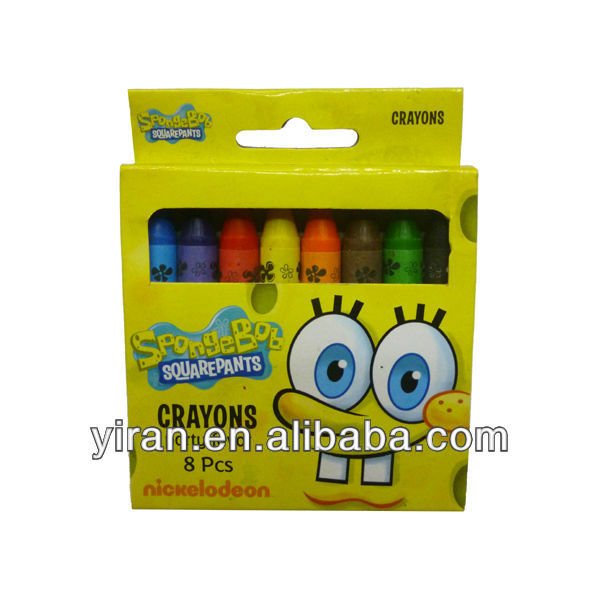 Promotional Soft Plastic Crayon Pens, Ball Shaped and Colorful Crayon