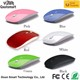 WM-10 Super Slim Drivers FCC Standard 3D USB Optical Custom Logo Wireless Mouse from ISO Computer Mouse Manufacturing Companies