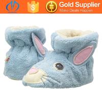 2015 winter cute animal indoor baby shoes