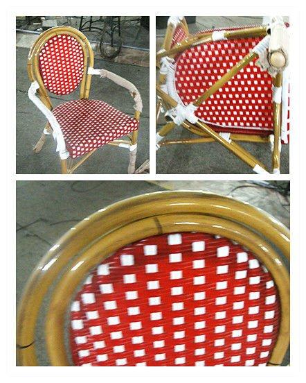 blanc et rouge canne restaurant bistro chaise / vieille chaise ... - Chaise De Terrasse Pour Restaurant
