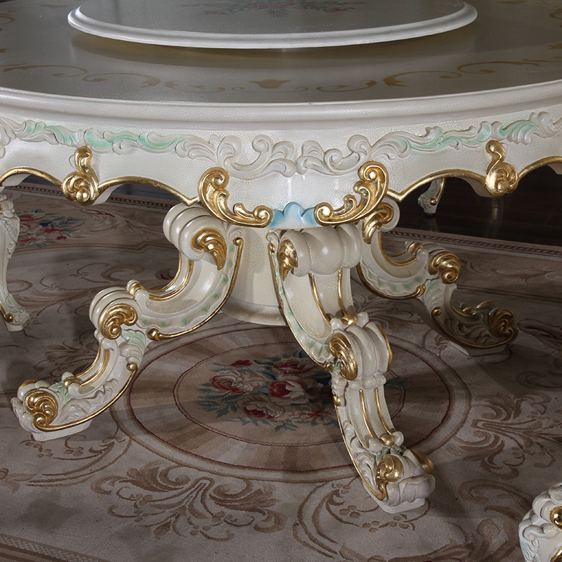 French Provincial Furniture -antique French Round Dining Room