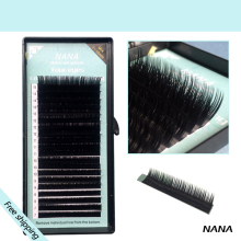 All size,1 case , B C D curl,7~15mm MIX ,20rows/tray, mink eyelash extension,natural eyelashes,individual false eyelash