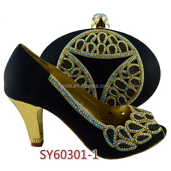 a366b54715844d Sy60301-1 Wholesale Italian Evening Women Shoes And Bag To Matching ...