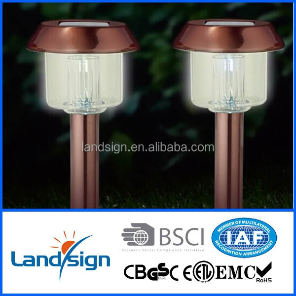 China supplier outdoor path lamp solar powered garden yard led lighting XLTD-300C-1