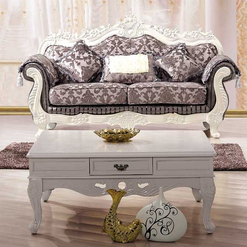 sofa loveseat single chair coffee table complete living room set french country style. Black Bedroom Furniture Sets. Home Design Ideas
