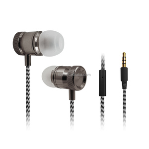 2019 Newest Earphone Wired Stereo Headphones Coolest In Ear Earbuds Jack Metal Housing Earbuds
