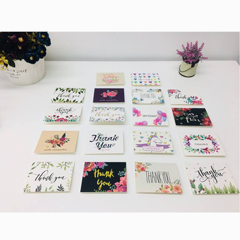 100PCS 48PCS 36PCS Popular Happy Birthday Greeting Card Thank You Greeting Card