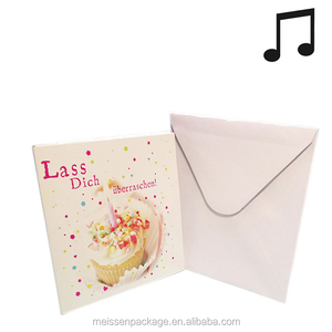 Free Birthday Cards With Music Suppliers And Manufacturers At Alibaba