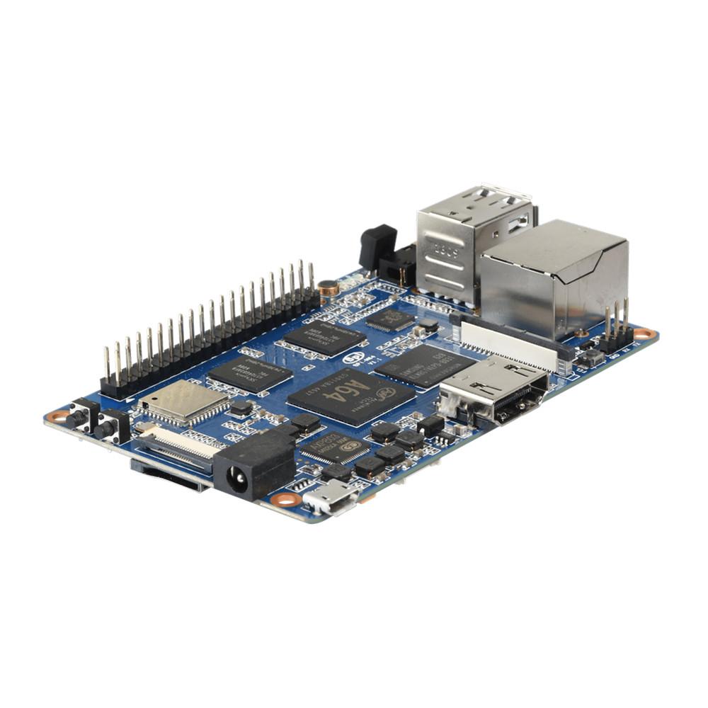 Banana Pi Bpi-m64 Quad-core 64 Bit Sbc With Allwinner A64 - Buy  Bpi-m64,Allwinner A64,Banana Pi M64 Product on Alibaba com