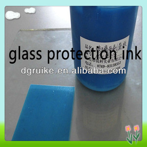 peelable temporary protection silk screen printing glass ink